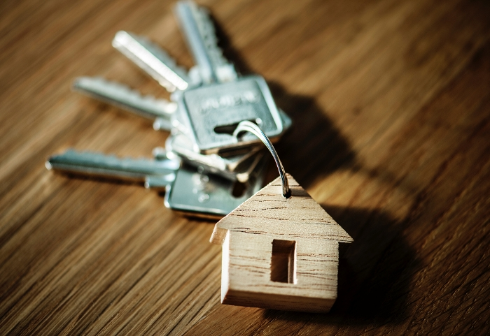 House keys for new home